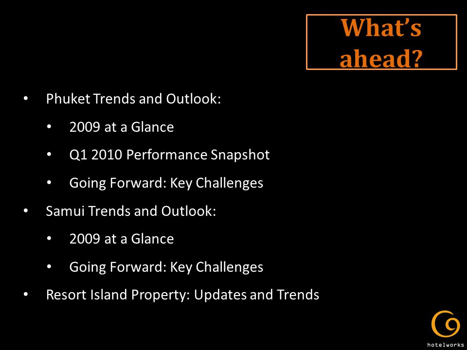 Trends and Outlook