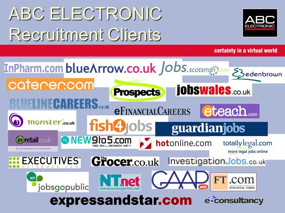 ABC ELECTRONIC Recruitment Clients