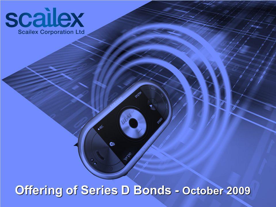 Offering of Series D Bonds - October 2009