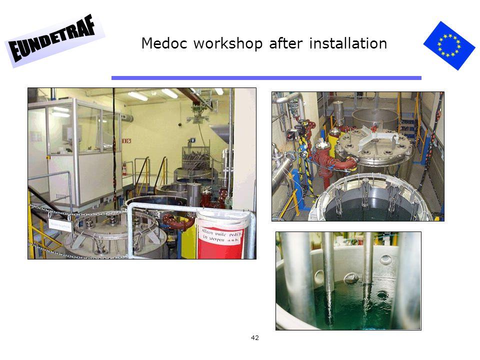 42 Medoc workshop after installation