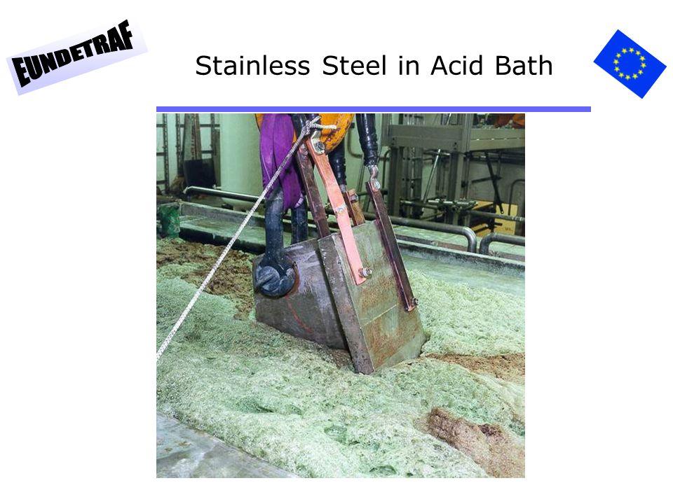 69 Stainless Steel in Acid Bath