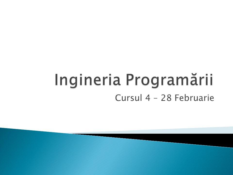 12/37  Cerinţe definite Incomplet50%  Modelare Ambiguă sau Insuficientă30%  Erori de Programare 20%