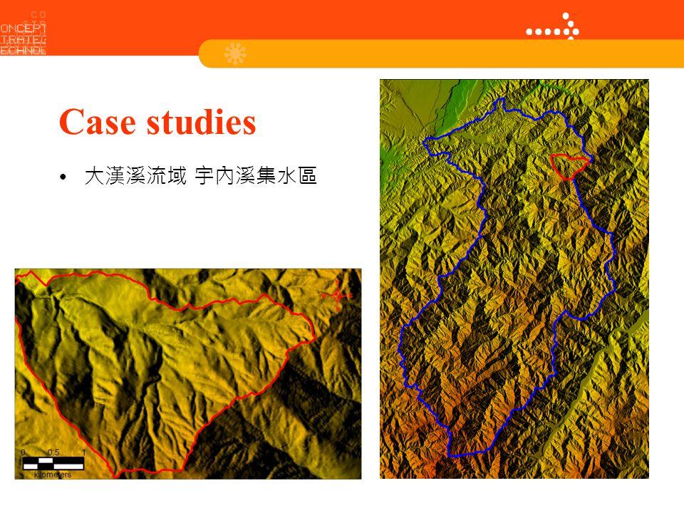 Case studies Height 大漢溪流域 宇內溪集水區