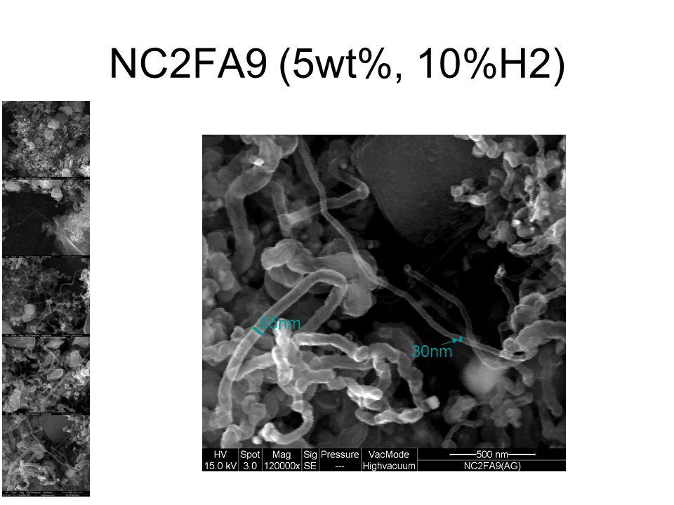 NC2FA9 (5wt%, 10%H2) 65nm 30nm