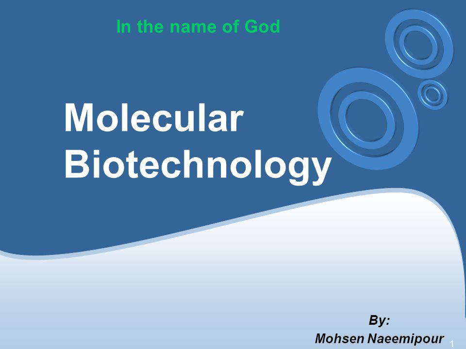 2 Timetable of Course The Development of Molecular Biotechnology DNA, RNA, and Protein Synthesis Recombinant DNA Technology Chemical Synthesis, Amplification, and Sequencing of DNA Manipulation of Gene Expression in Prokaryotes Heterologous Protein Production in Eukaryotic Cells Directed Mutagenesis and Protein Engineering Molecular Diagnostics Protein Therapeutics Nucleic Acids as Therapeutic Agents Bioinformatics, Genomics, and Proteomics Transgenic Animals