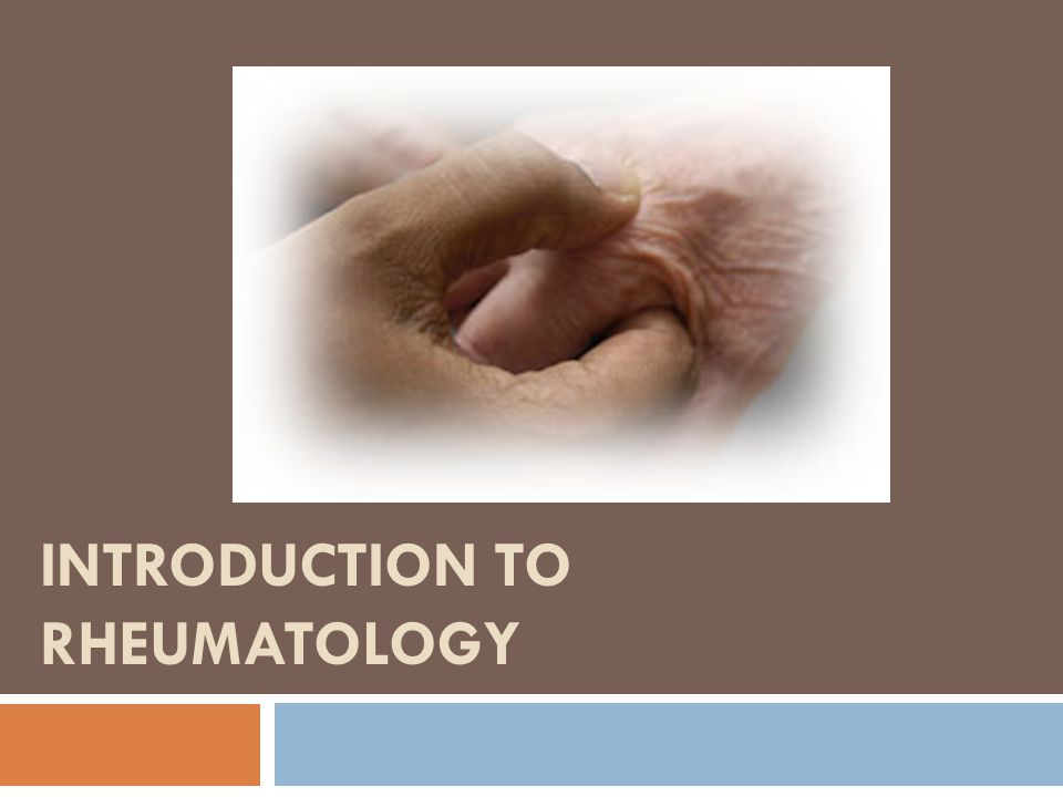 The origins of Rheumatology  Rheumatology - a branch of medicine devoted to the study of rheumatic diseases and disorders of the function and / or structure of the musculoskeletal system.
