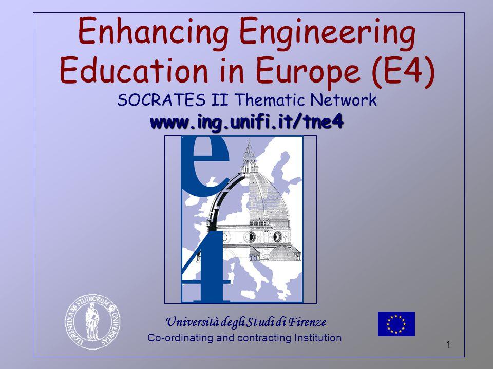 52 Activity 4: Enhancing the European Dimension E4 ACTIVITY 4
