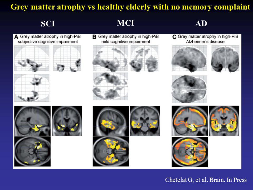 Chetelat G, et al. Brain.