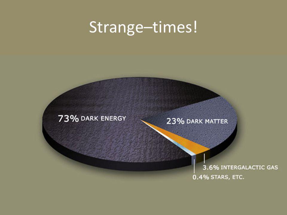 Strange–times!