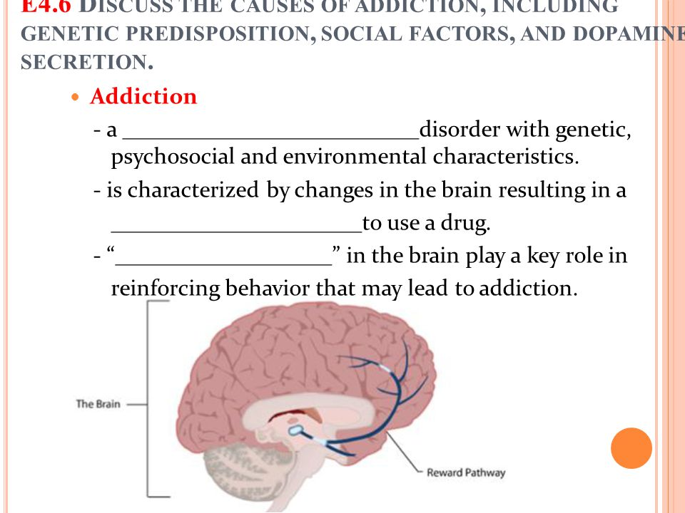 Addiction - a __________________________disorder with genetic, psychosocial and environmental characteristics. - is characterized by changes in the br