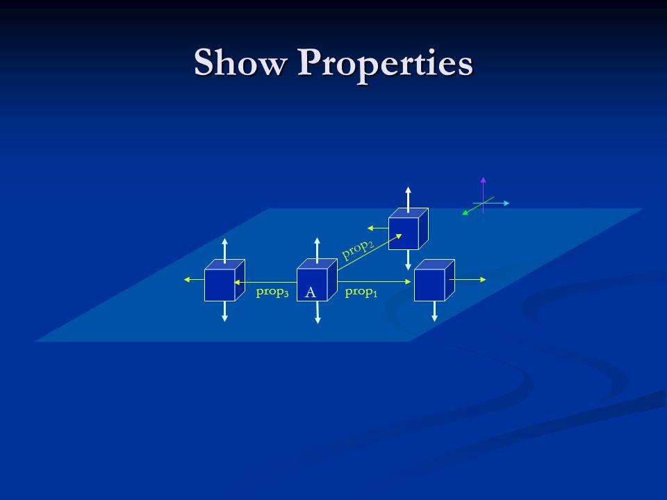 Show Properties prop 1 A prop 2 prop 3