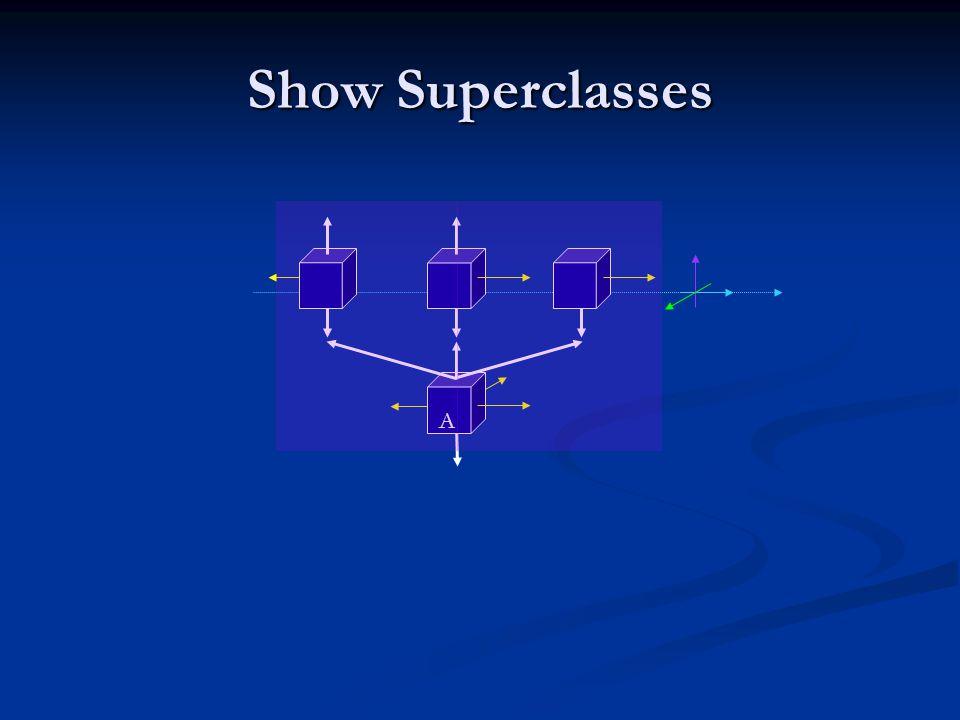 Show Superclasses A