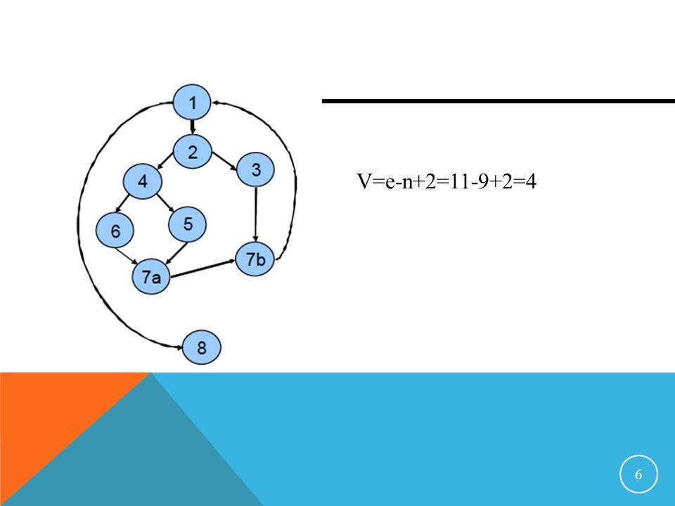 6 V=e-n+2=11-9+2=4