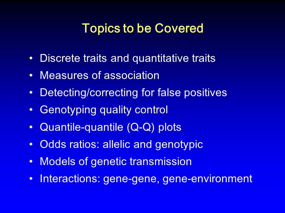 Q-Q Plot for Prostate Cancer, excluding Chromosome 8 Gudmundsson J et al, Nat Genet 2007; 39:977-983.