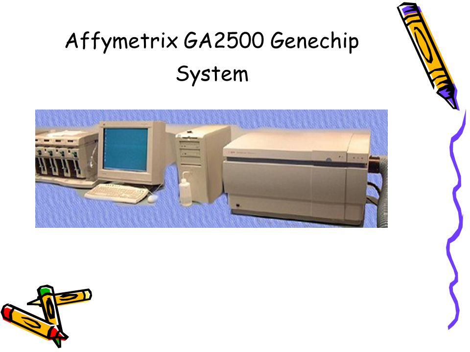 Affymetrix GA2500 Genechip System