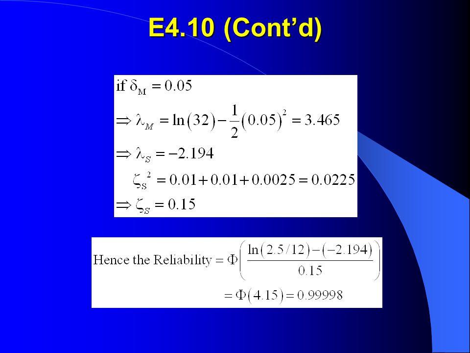 E4.10 (Cont'd)