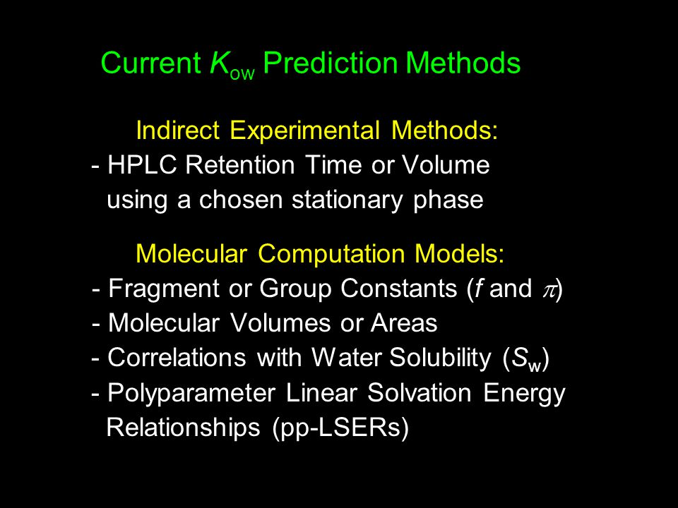 Substituent Contribution to Partition Coefficient Fujita et al.
