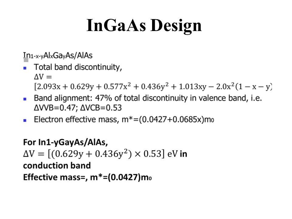 InGaAs Design