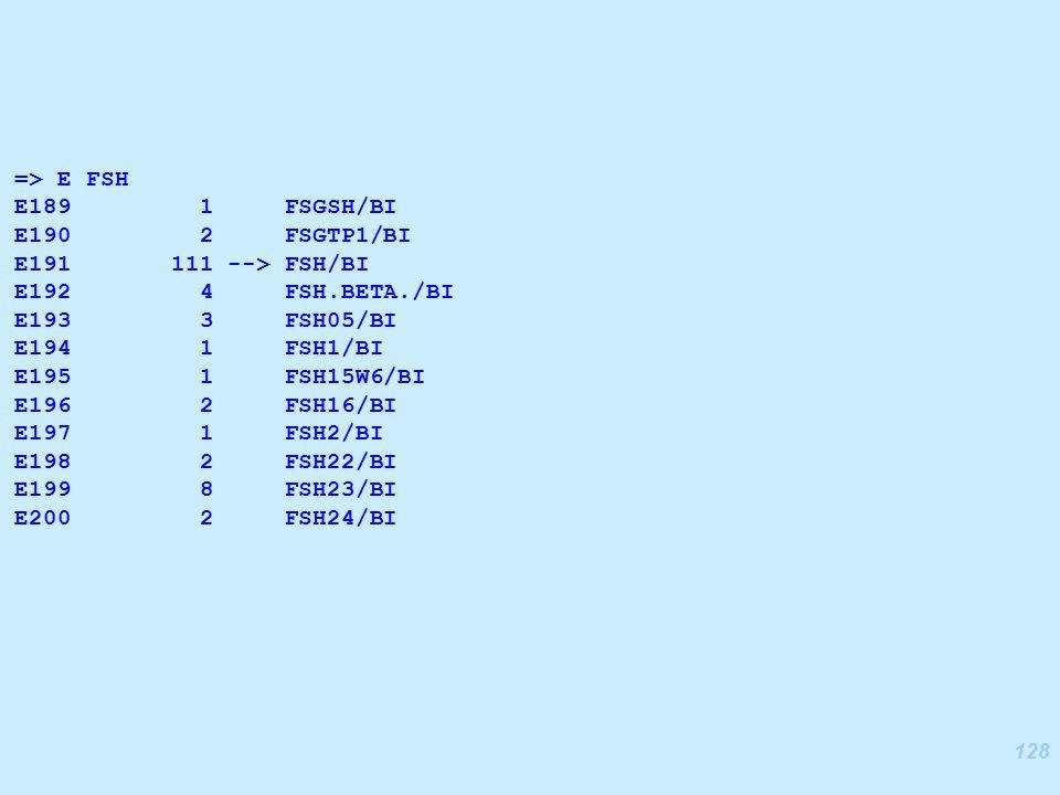 128 => E FSH E189 1 FSGSH/BI E190 2 FSGTP1/BI E191 111 --> FSH/BI E192 4 FSH.BETA./BI E193 3 FSH05/BI E194 1 FSH1/BI E195 1 FSH15W6/BI E196 2 FSH16/BI E197 1 FSH2/BI E198 2 FSH22/BI E199 8 FSH23/BI E200 2 FSH24/BI