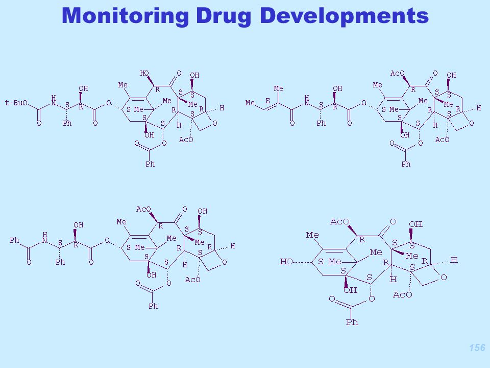 156 Monitoring Drug Developments