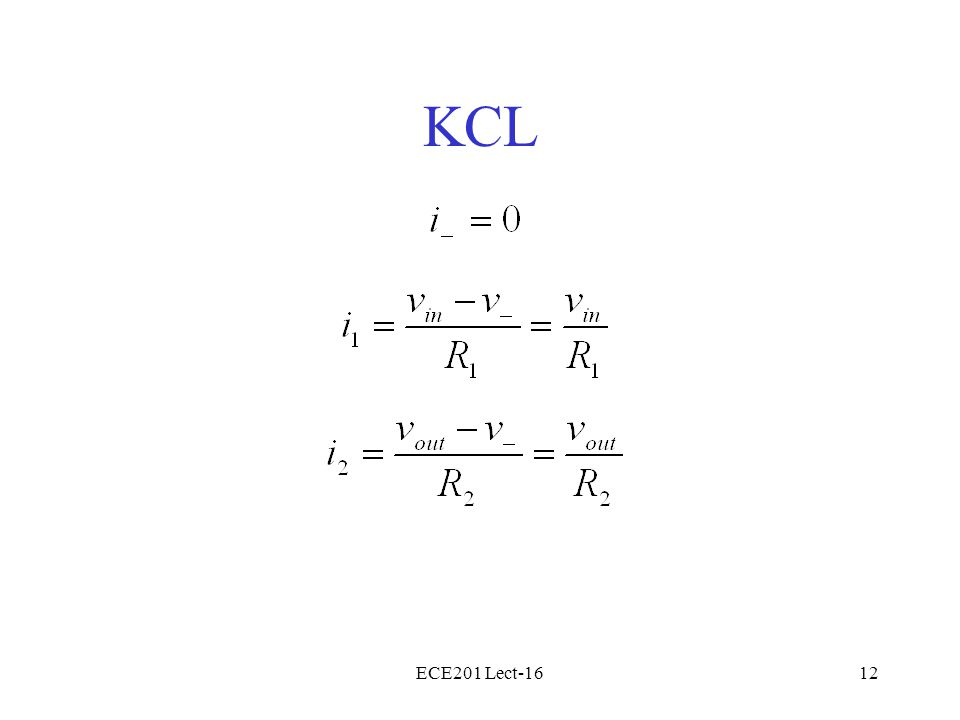 ECE201 Lect-1612 KCL