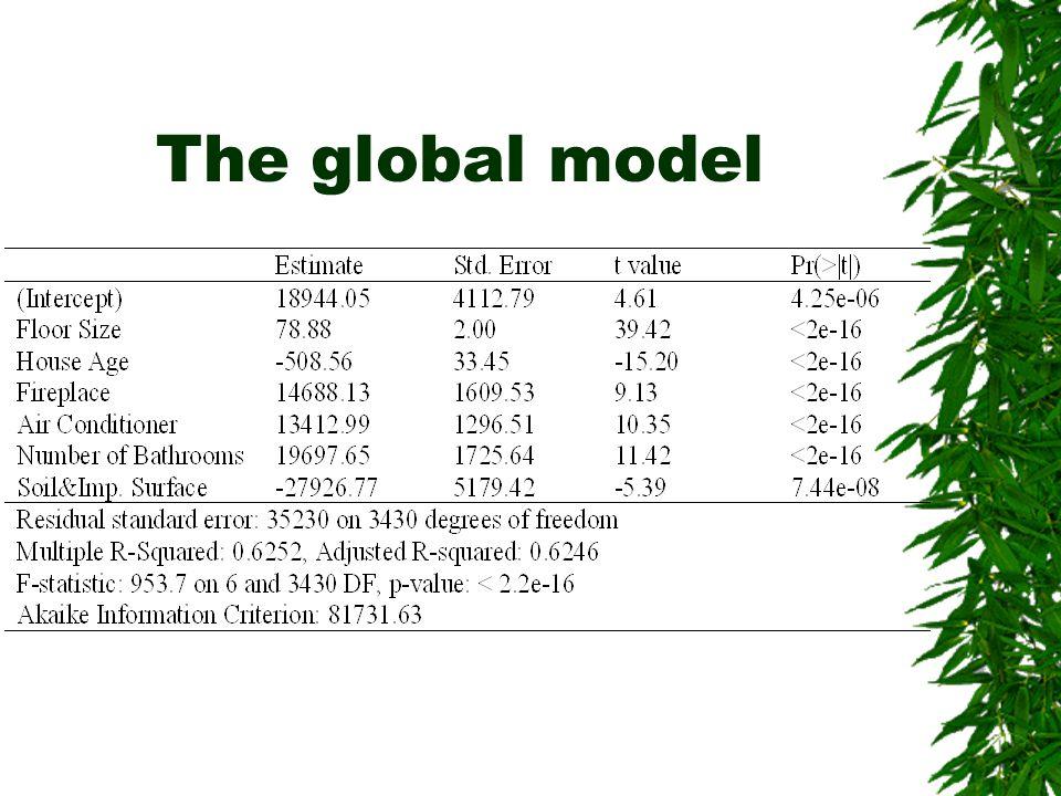 The global model