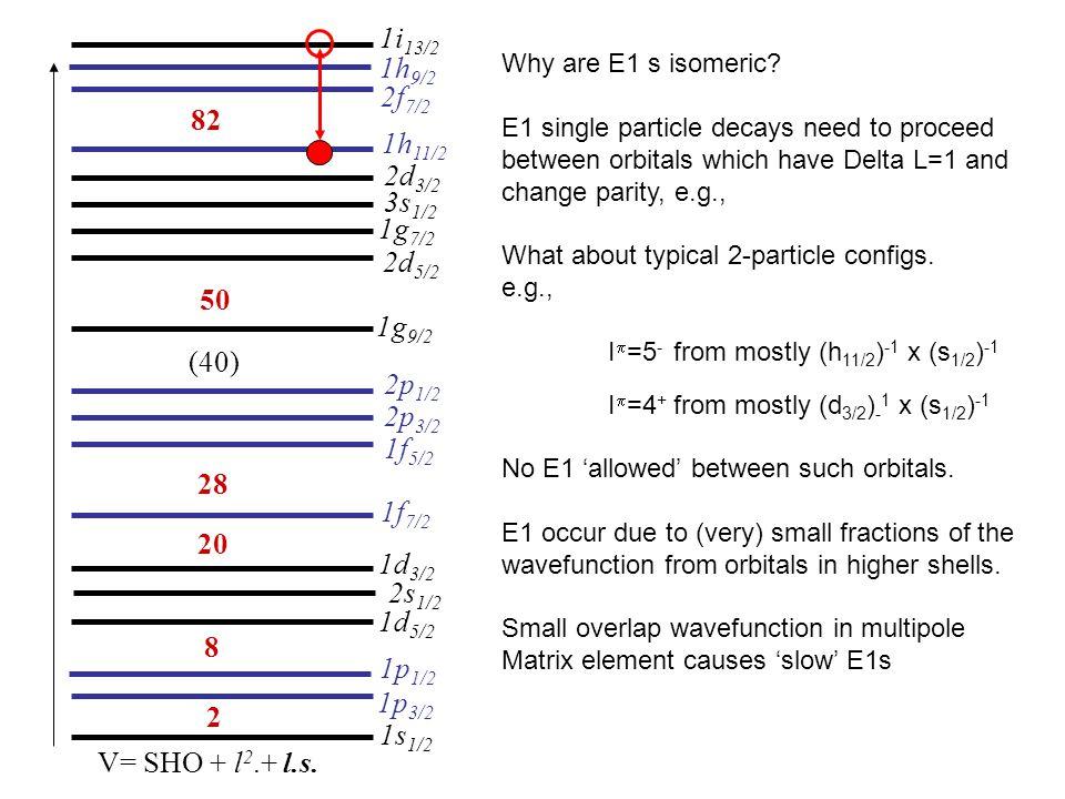 2 8 20 28 (40) 50 V= SHO + l 2.+ l.s.
