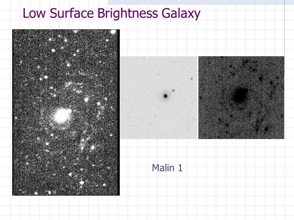 Low Surface Brightness Galaxy Malin 1