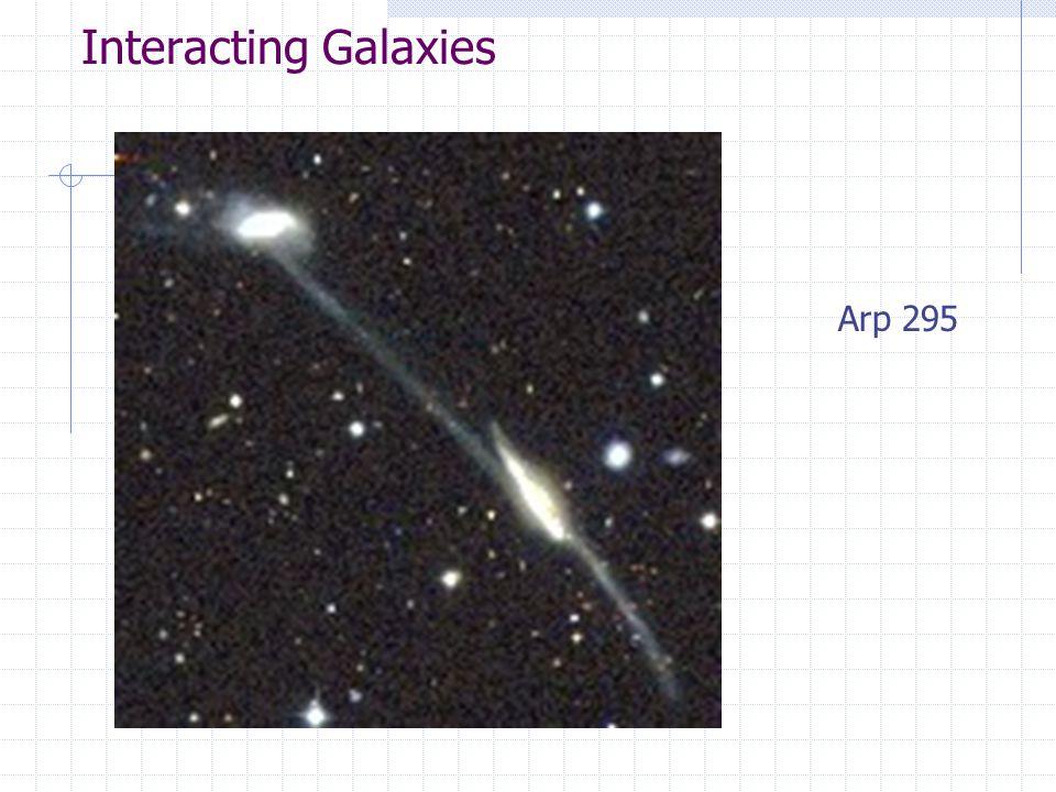 Interacting Galaxies Arp 295