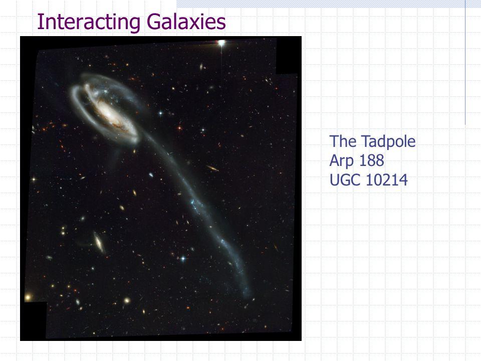 Interacting Galaxies The Tadpole Arp 188 UGC 10214