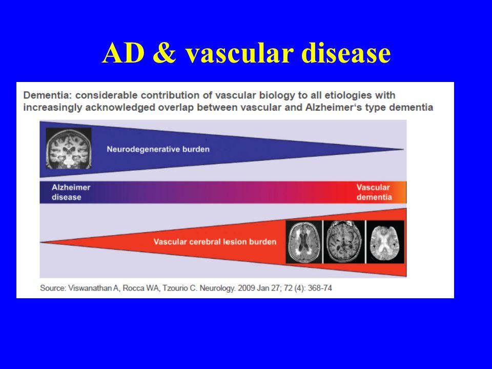 AD & vascular disease