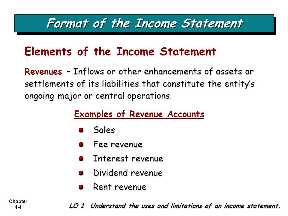 Chapter 4-35 Review Gains and losses that bypass net income but affect stockholders equity are referred to as a.