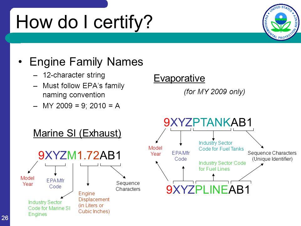 26 How do I certify.