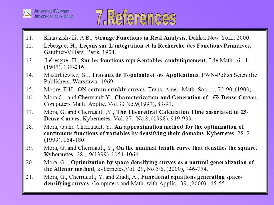 11.Kharazishvili, A.B., Strange Functions in Real Analysis, Dekker,New York, 2000.
