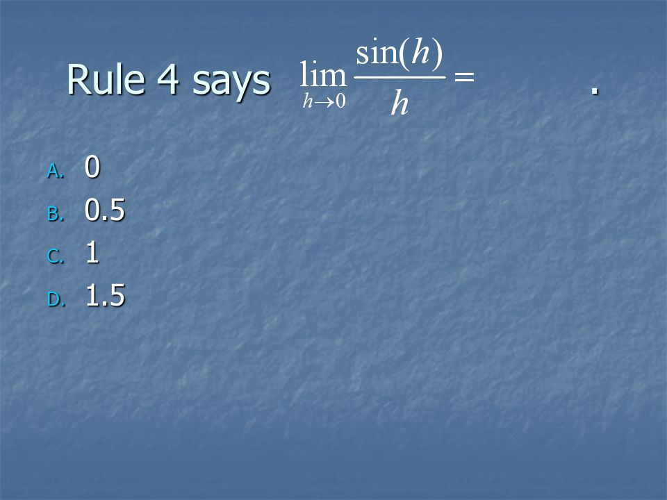 If y = sec(x), find the acceleration, y''(0) using the product rule on sec'(x).