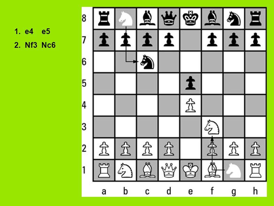 2. Nf3 Nc6