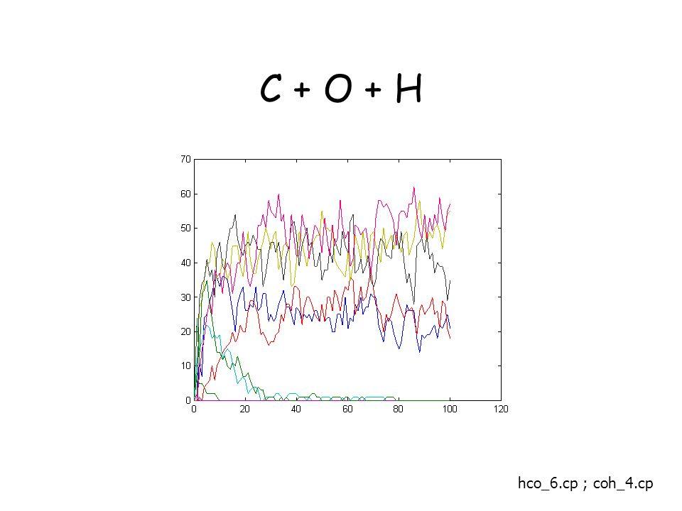 C + O + H hco_6.cp ; coh_4.cp
