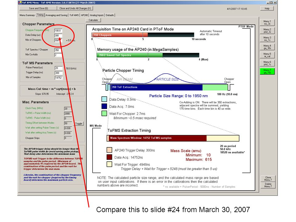 Compare this to slide #24 from March 30, 2007