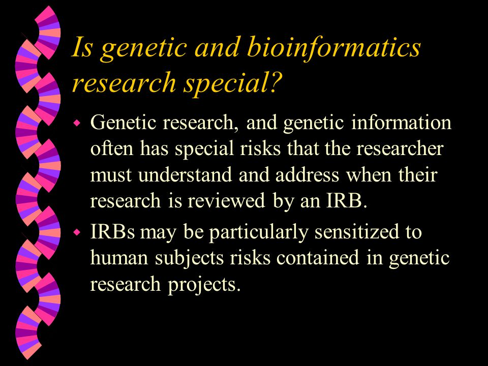 Refuge in Rational judgment w If you're doing human subjects research under the Common Rule, and your research is not exempted and does not qualify for a waiver under the minimal risk clause, you may still get a waiver if: w The IRB believes that the value of your research outweighs the risks, and there is no way of obtaining consent.