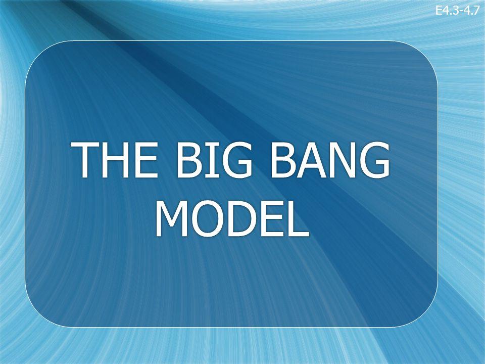 THE BIG BANG MODEL E4.3-4.7