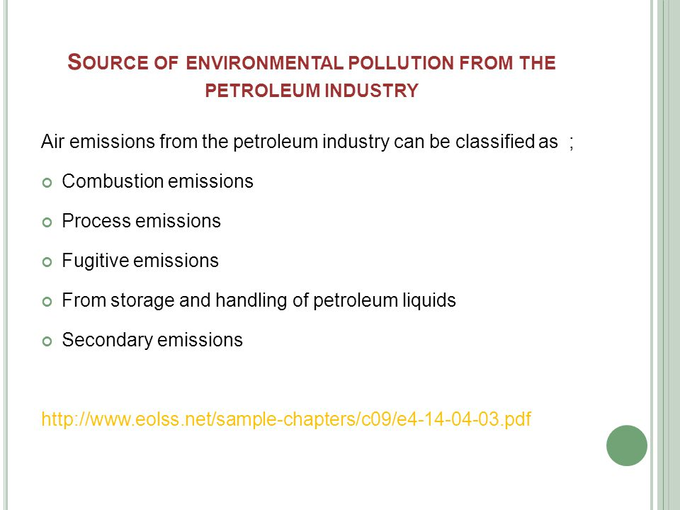  Combustion emissions are produced with onsite burning of fuels for energy production and transportation purposes.