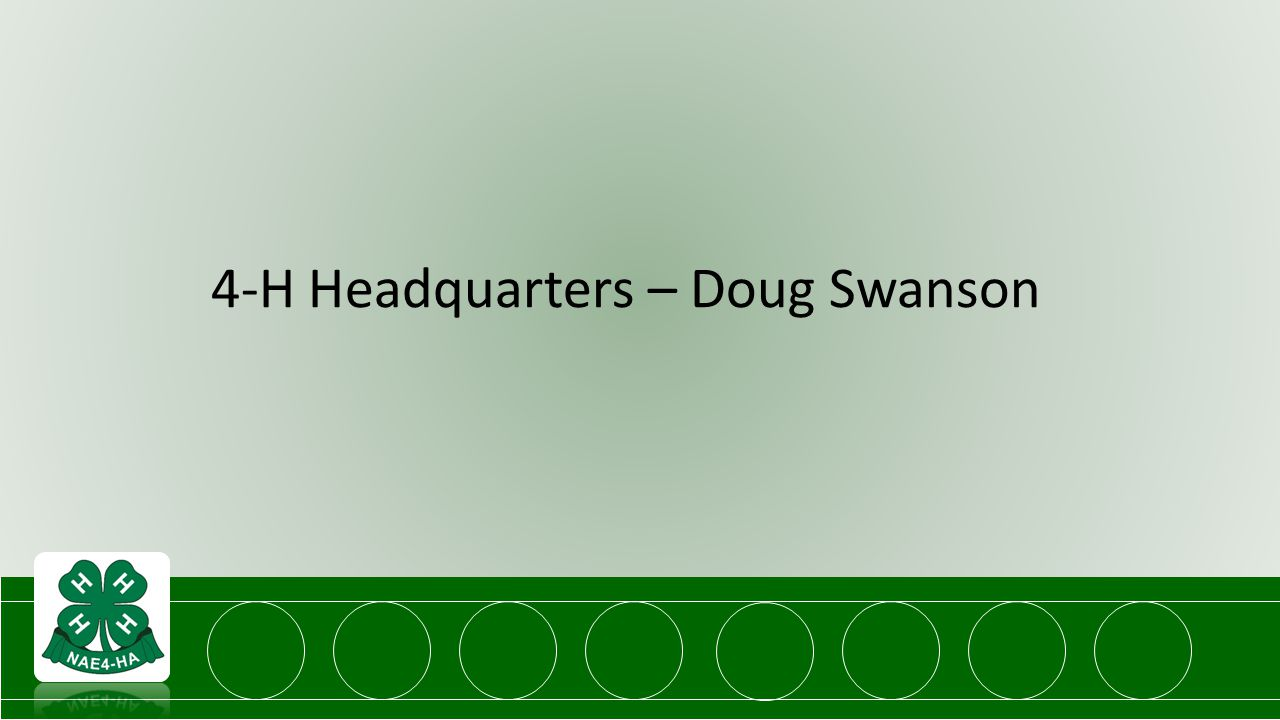 4-H Headquarters – Doug Swanson