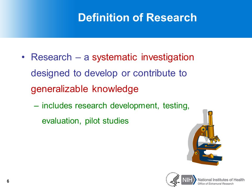 7 Definition of Human Subject … a living individual about whom an investigator (professional or student) conducting research obtains –Data through intervention or interaction with the individual –Identifiable private information 7 OR