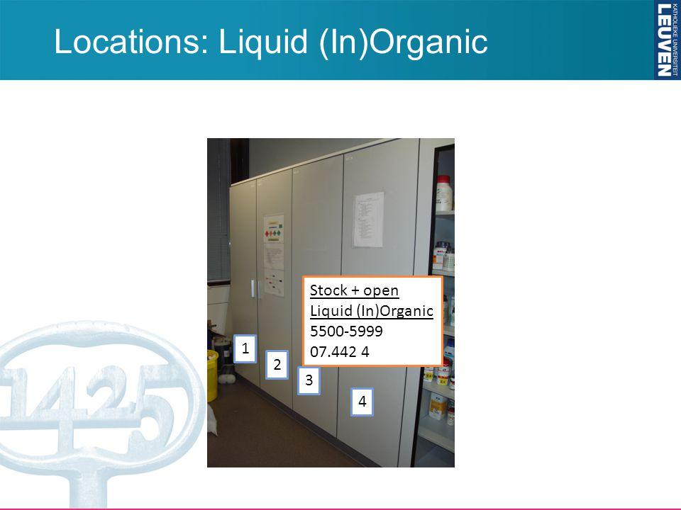 Locations: Liquid (In)Organic Stock + open Liquid (In)Organic 5500-5999 07.442 4 1 2 3 4