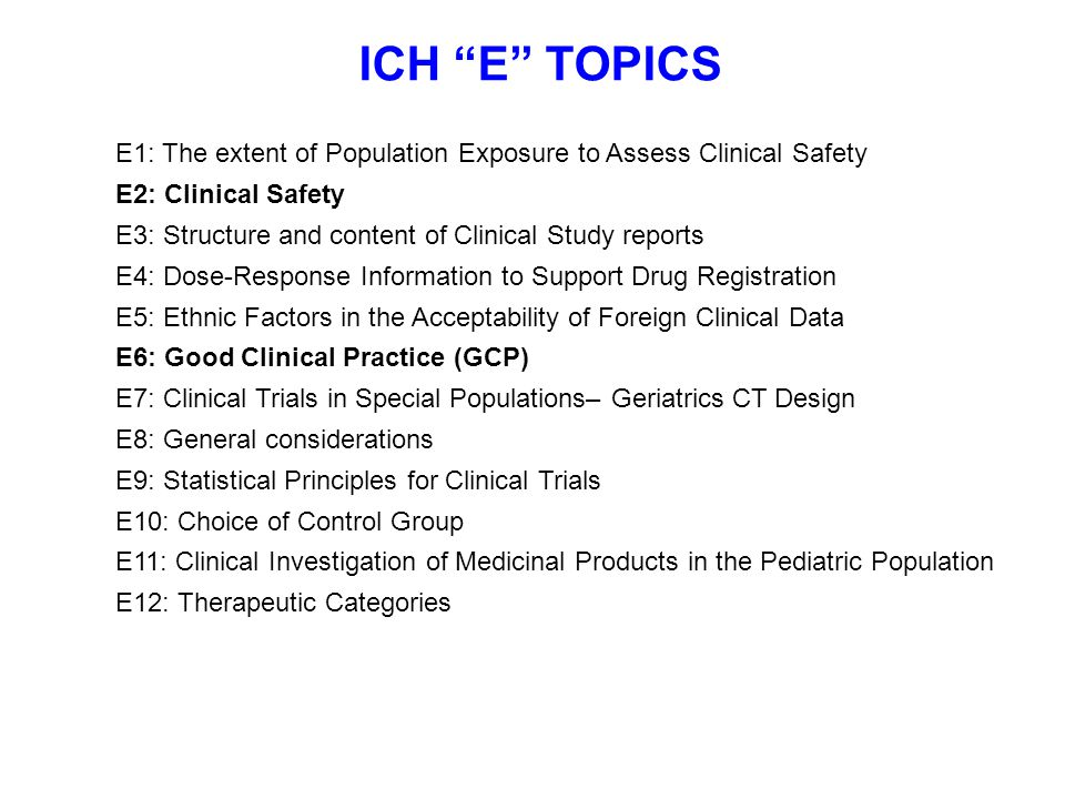 GOOD CLINICAL PRACTICE (GCP)  GCPs: Rules of conducting clinical research that is scientifically sound and upholds ethical principles  GCP originated with World Health Organization Declaration of Helsinki written and adopted in response to WWII war crimes  GCP strengthened and broadened by the US Belmont Report