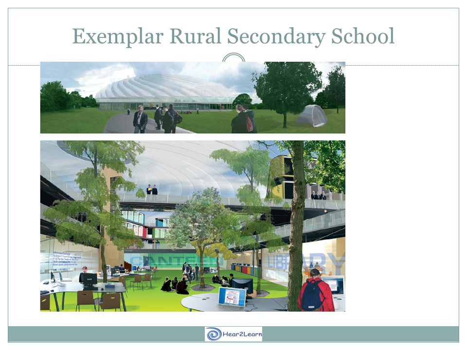 Exemplar Rural Secondary School