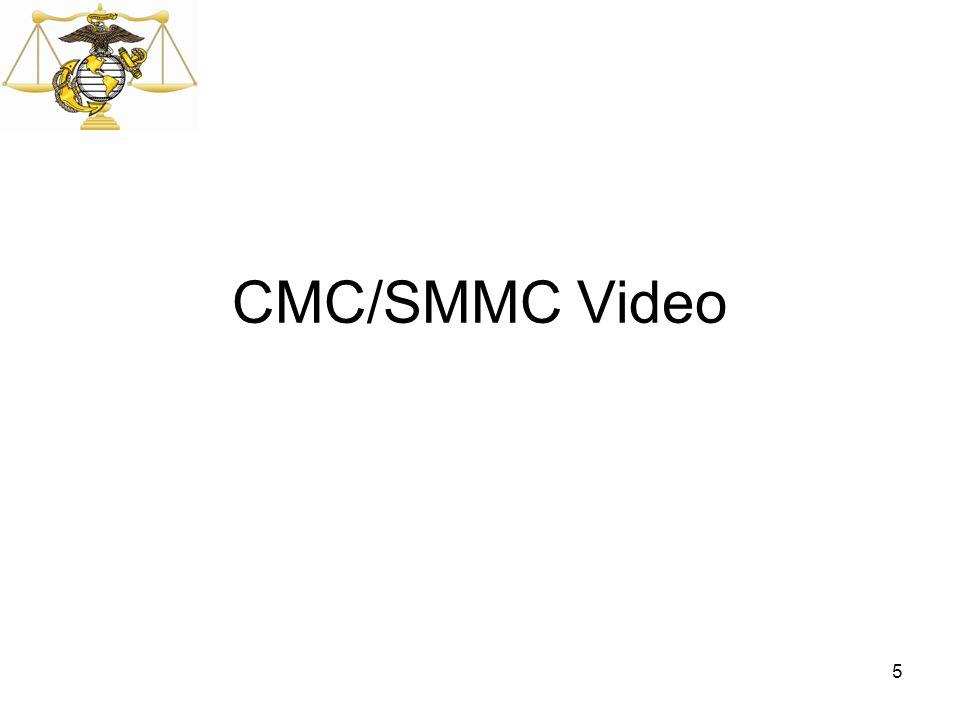 CMC/SMMC Video 5