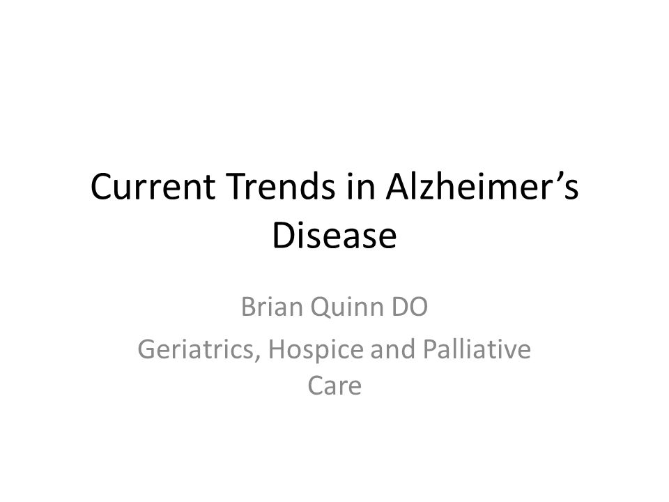 Important Points Alzheimer's disease is best treated when caught early Alzheimer's affects more than memory Alzheimer's is the most common kind of dementia Healthy living (diet, exercise, avoiding bad stuff, taking care of medical problems) is the best way to prevent dementia