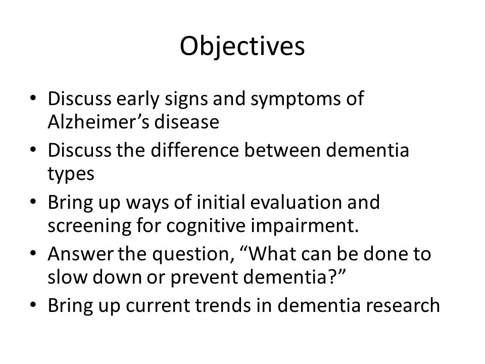 Parkinson's Dementia Dementia Associated with more severe Parkinson's disease Differs from Lewy Body dementia Often functional decline from Parkinson's is much more significant than the thinking problems