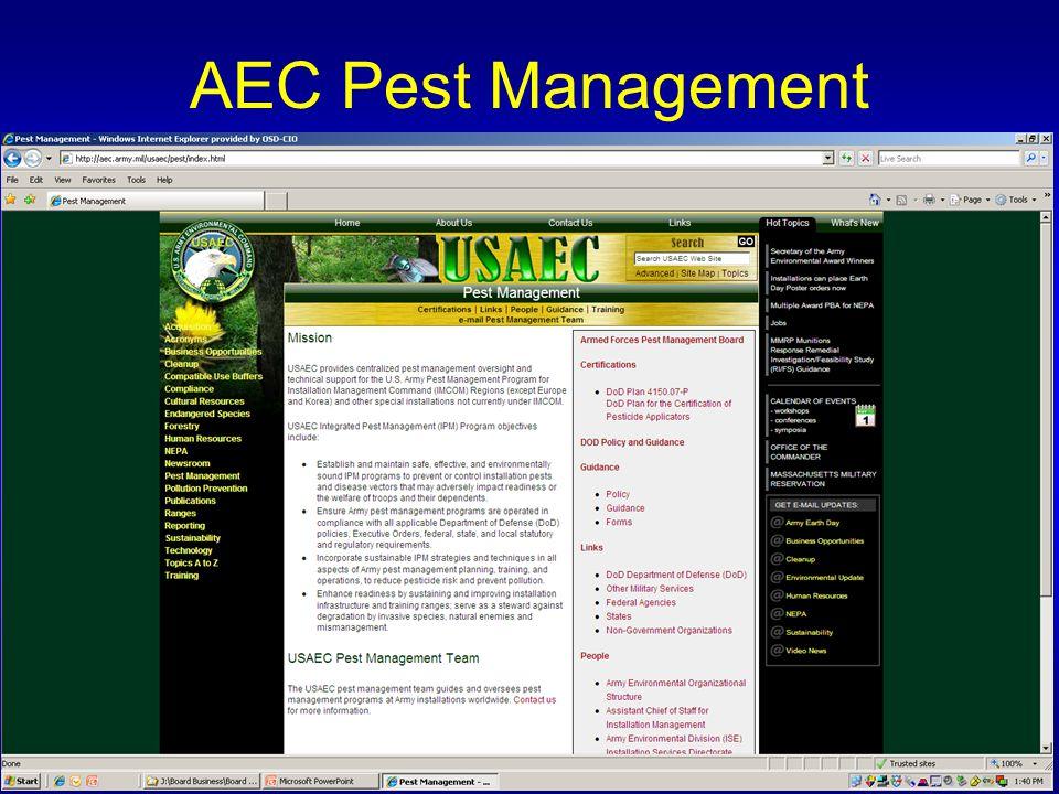 AEC Pest Management